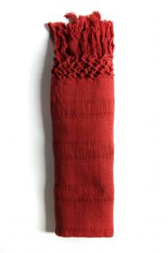 Rebozo scarf in organic cotton (Copy) - Red