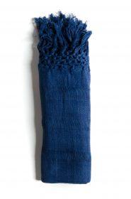 Rebozo scarf in organic cotton (Copy) - Blue