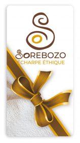 Écharpe Rebozo en coton bio - Carte cadeau