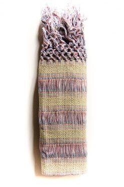 Echarpe de portage multicolore en coton bio